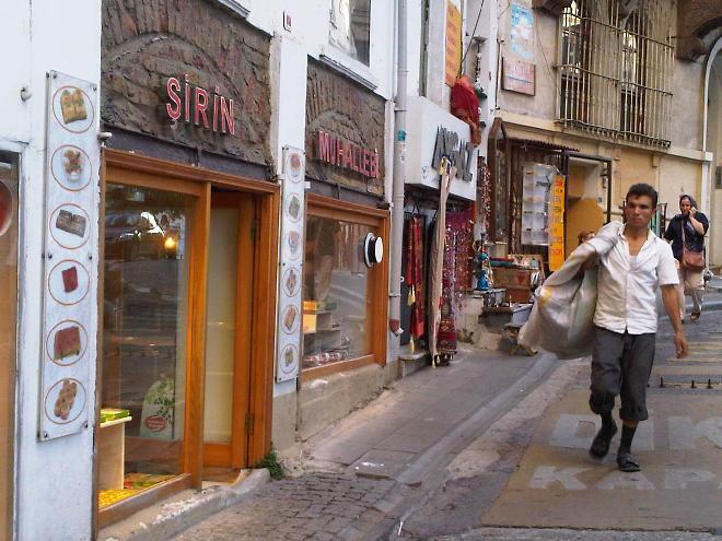 Side Street near the Galata Tower