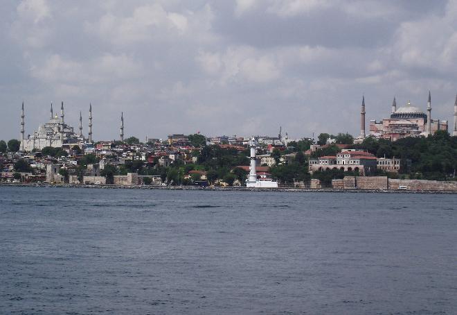 Ayasofya ve Sultanahmet Mosques