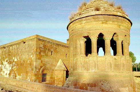 Monumental Gravestone in Bitlis