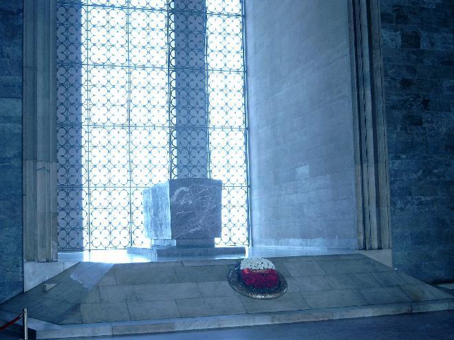 Inside th Museum of Ataturk