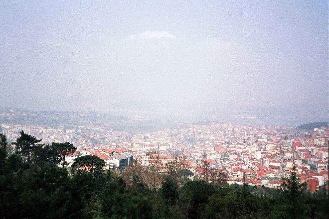 View from Çamlıca