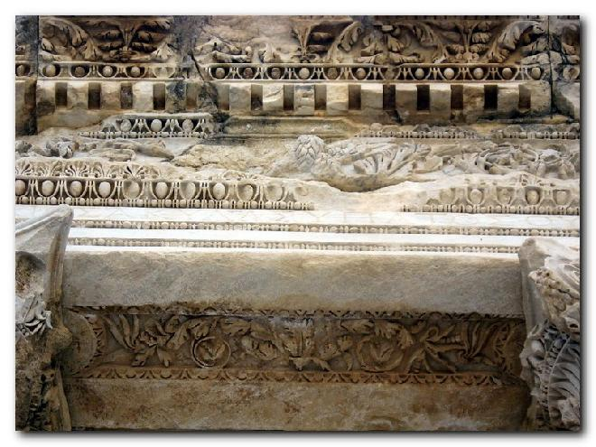 Efes - Celsus Library - Detail