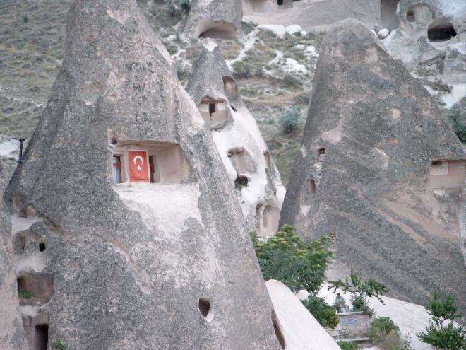 Cappadocia rock houses
