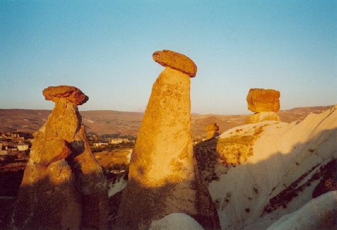 Karst Mountains in Cappadocia