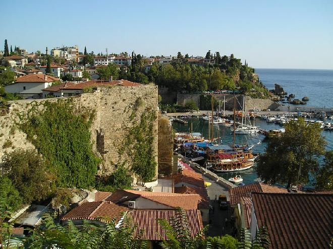 Antalya yacht harbour