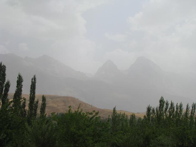 Mountains in Adana
