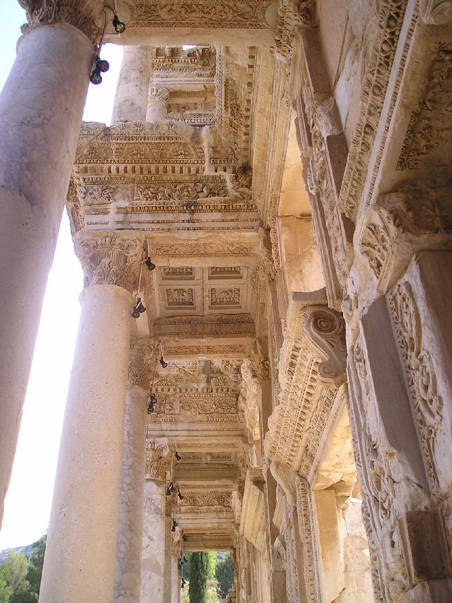 Ephesus ceiling
