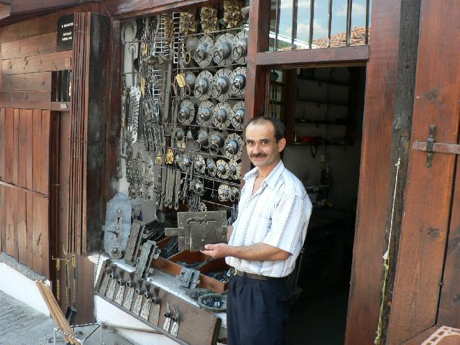Blacksmith Hüseyin in Safranbolu