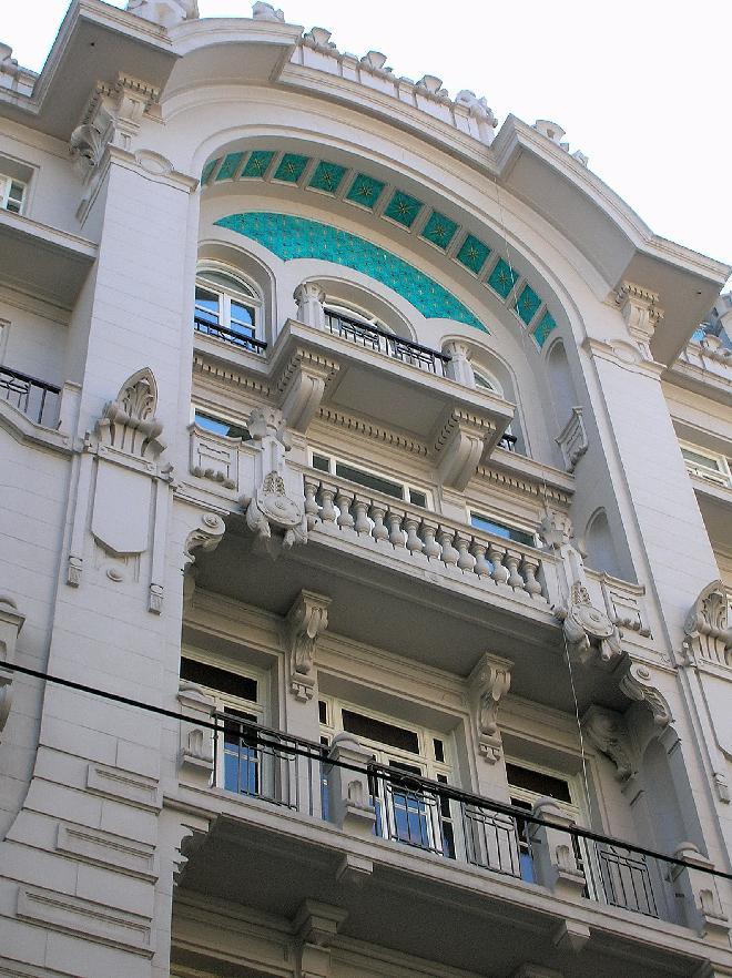 Impressive house front