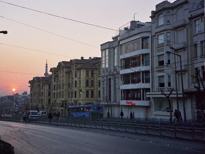 Sunset at Ordu Street