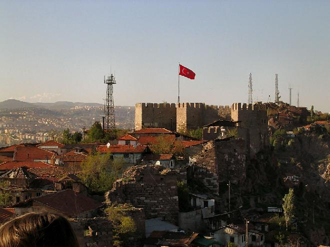 Castle at Ankara