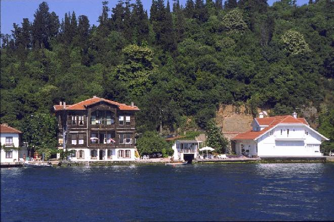 Bosphorus houses