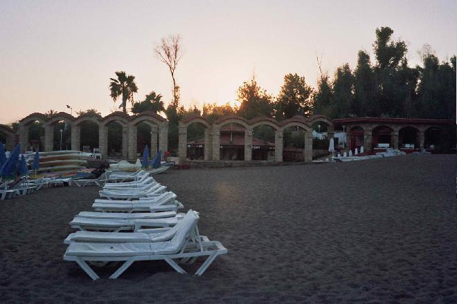 Lara Beach sunset