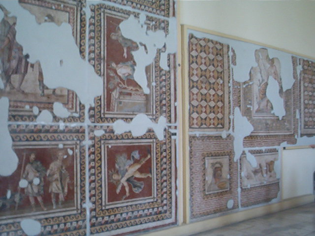 Mosaics in the archaeological museum