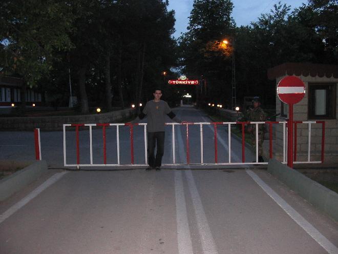 Karaagac Sinir Kapisi - Border