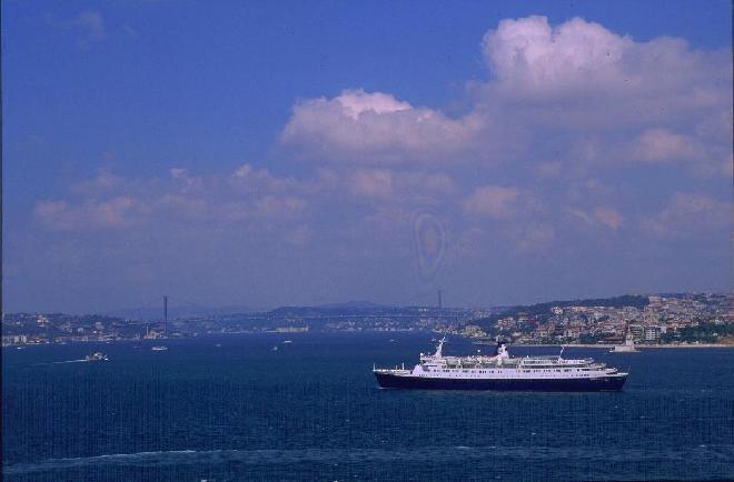 Istanbul from Bosphorus