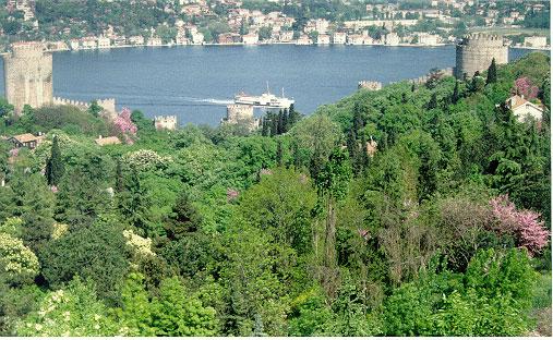 Bosphorus from Bogazici University