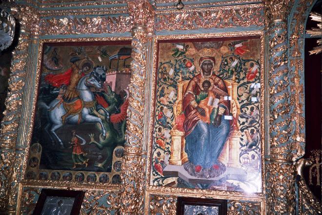 Interior of St George Church