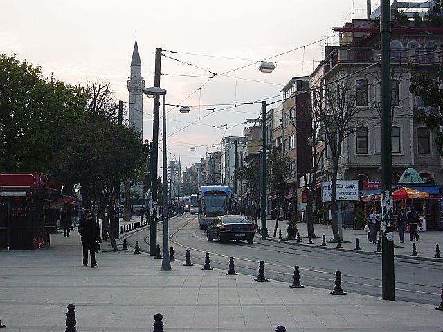 Sultanahmet tramlines