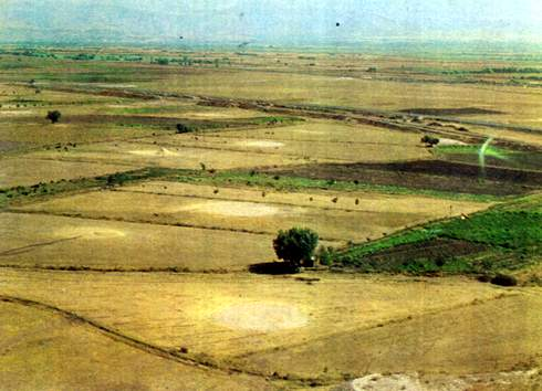 Plains in the province of Igdir