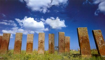 Monumental Gravestones in Bitlis