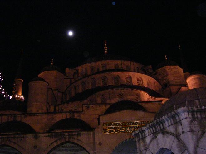 Sultan Ahmet Mosque at Ramazan