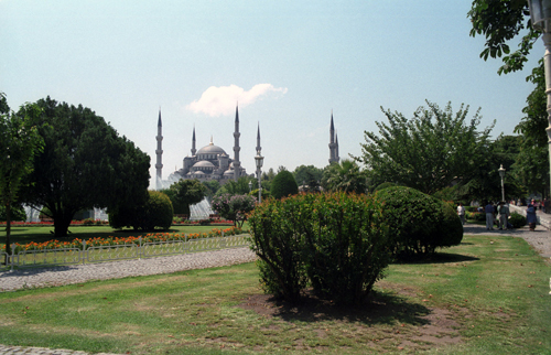 blue mosque--once more