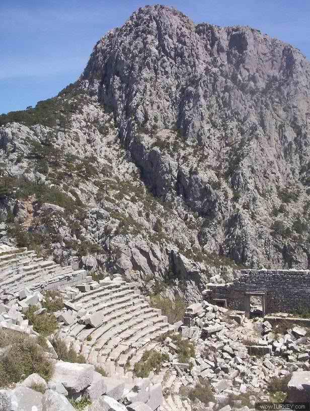 Termessos - Theatre