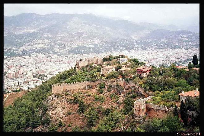 Alanya City Walls