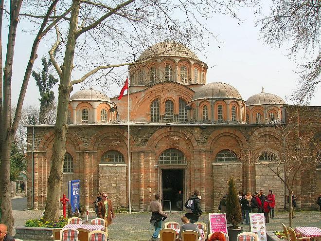 Byzantine church of the Chora