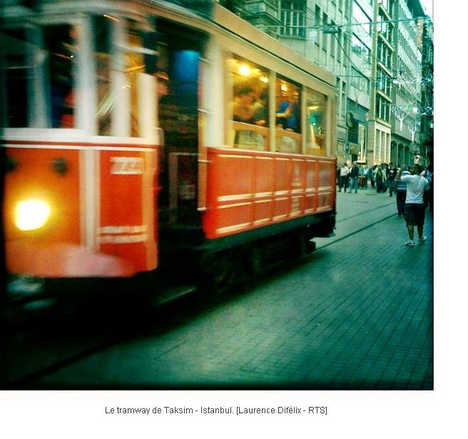 Le tramway/Istanbul Turkey