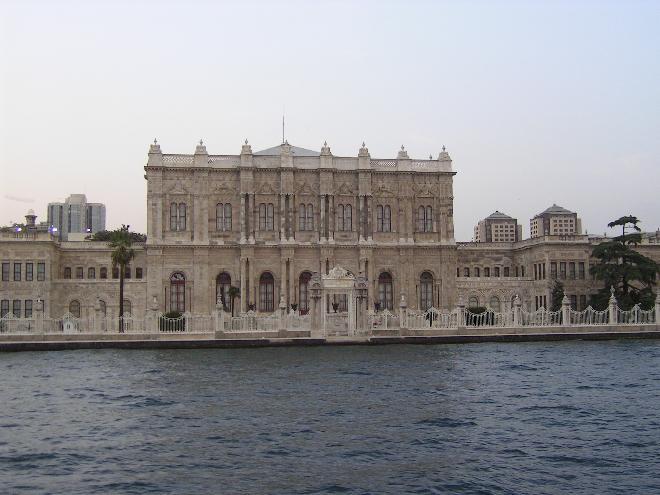 Bosphorus trip 13 - Dolmabahçe Palace