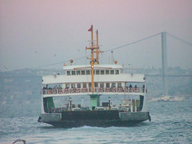 Harem - Eminönü Car Ferry