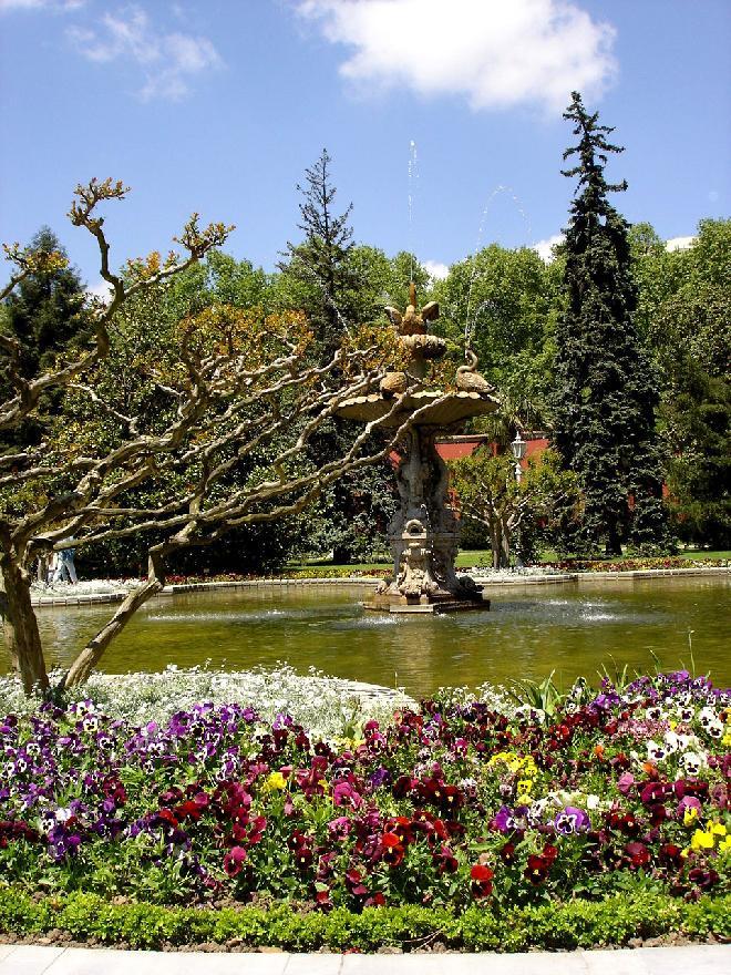 Dolmabahce Garden-Fountain