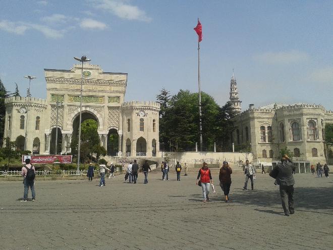 Gate of Istanbul University