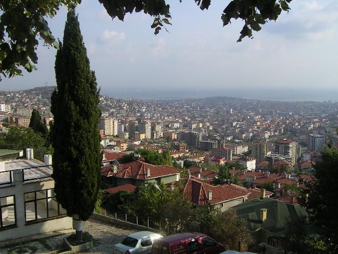 Taken from Yakacık hill