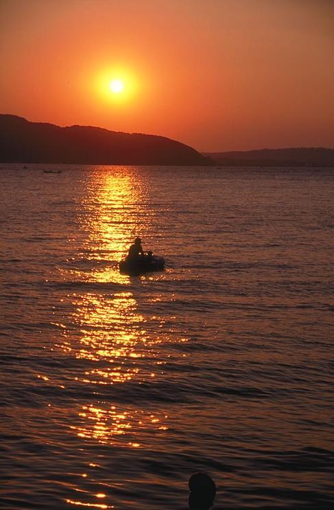 Canakkale sunset