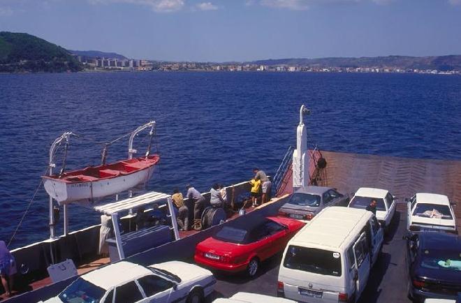 Gelibolu - Bursa ferry