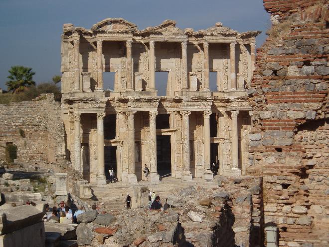 Efese - Kütüphane