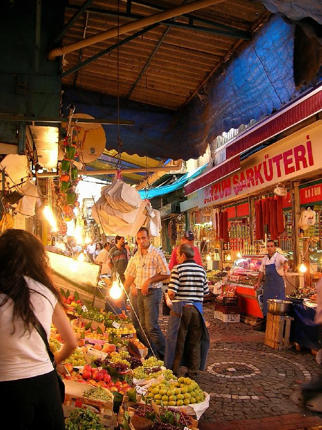 Kadıköy market