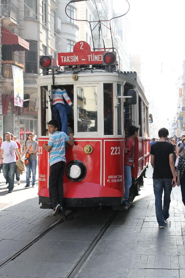 Free tram ride