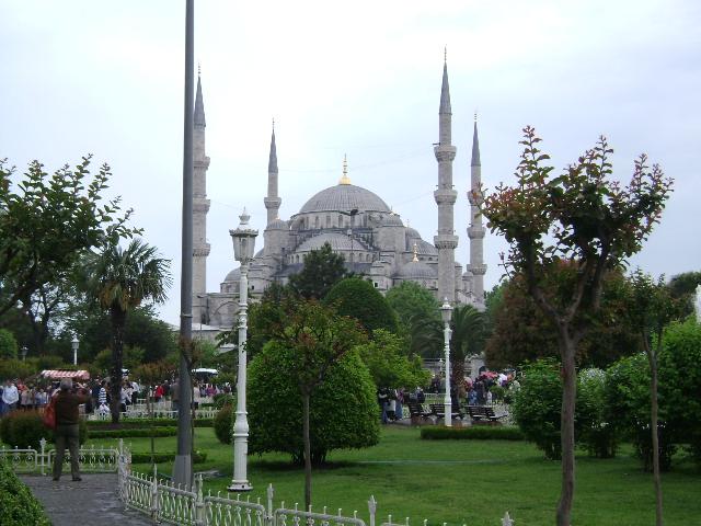 Istanbul... Blue masque