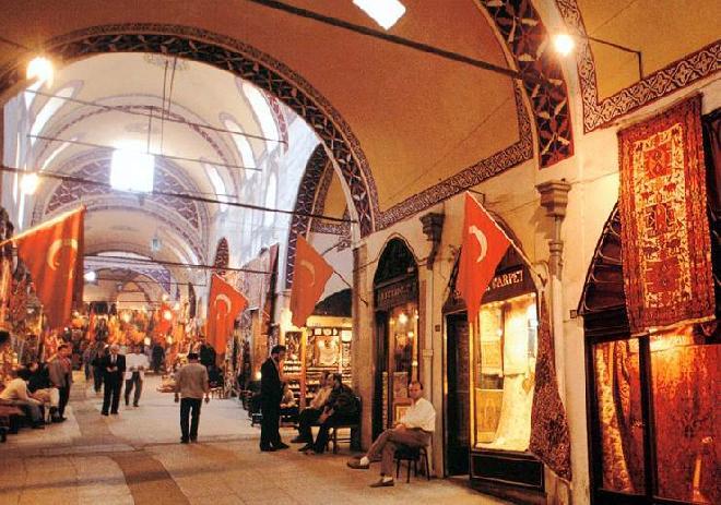 Inside Kapalicarsi - Grand Bazaar
