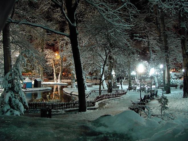 Kuðulu park in Ankara
