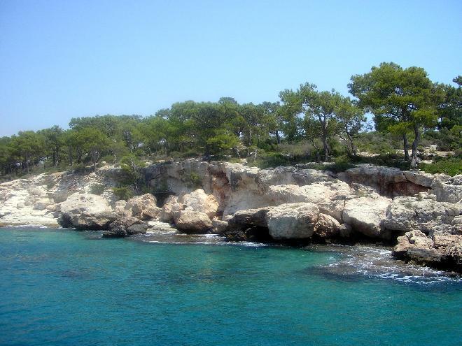 Mersin sahilleri, Mediterranean