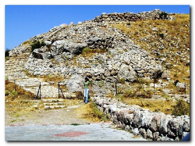 Hattuşaş - View on Great Fortress