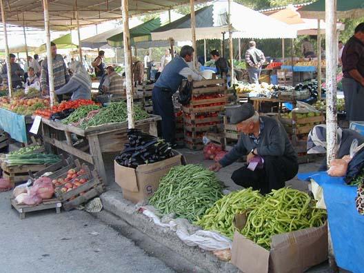 Canakkale fruit Bazaar