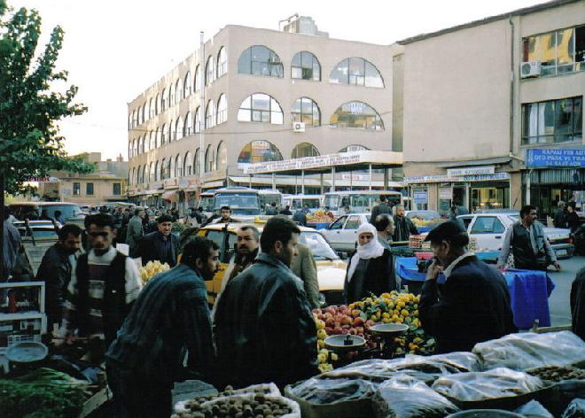 Diyarbakir street market