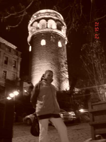 Galata Tower ve ben