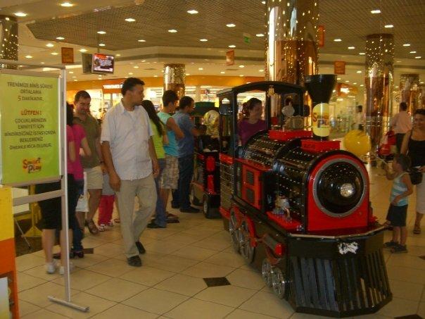 Cevahir Mall Train